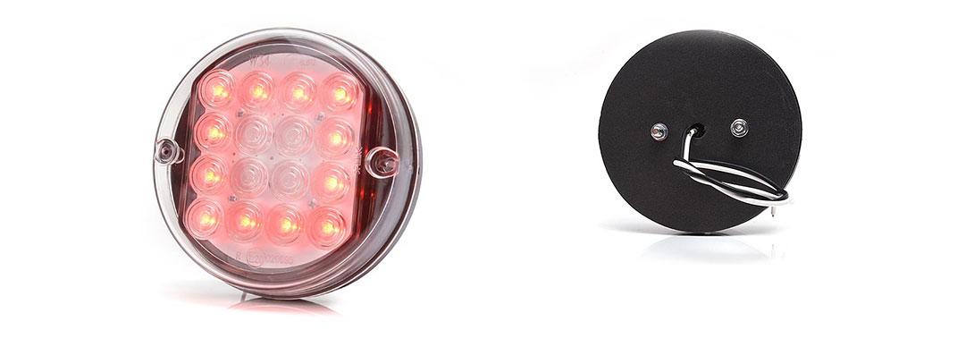 Lampy jednofunkcyjne przednie i tylne - W34