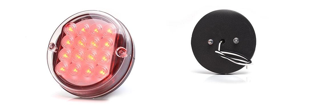 Lampy jednofunkcyjne przednie i tylne - W35