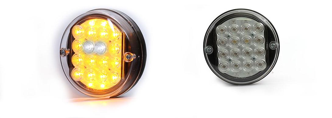 Lampy zespolone przednie - W43