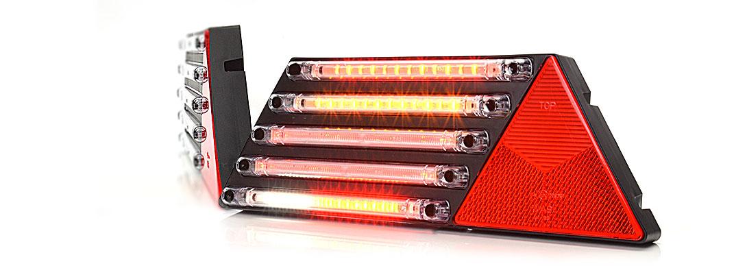 Lampy zespolone tylne - W69L
