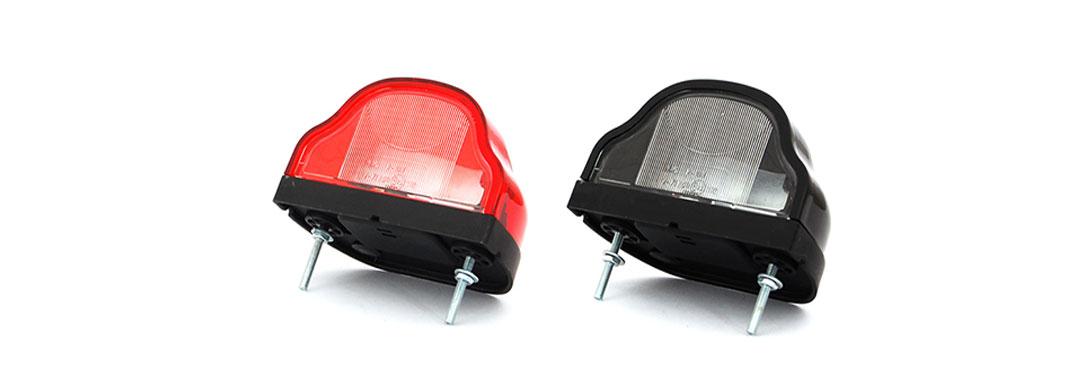 Lampy oświetlenia tablicy rejestracyjnej - W71