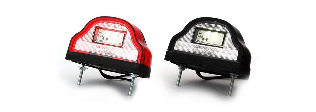 Lampy oświetlenia tablicy rejestracyjnej - W72