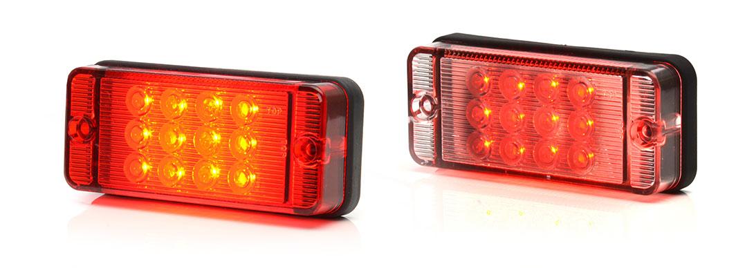 Lampy jednofunkcyjne przednie i tylne - W83D