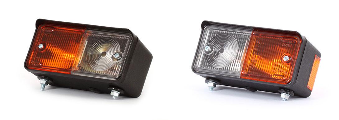 Lampy zespolone przednie - W06L, W07P