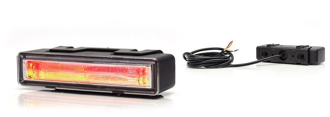 Lampy zespolone tylne - W114
