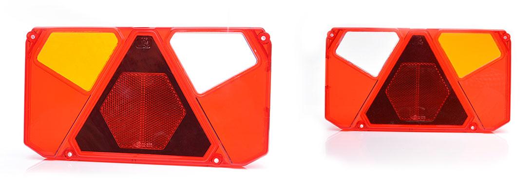 Lampy zespolone tylne - W124de