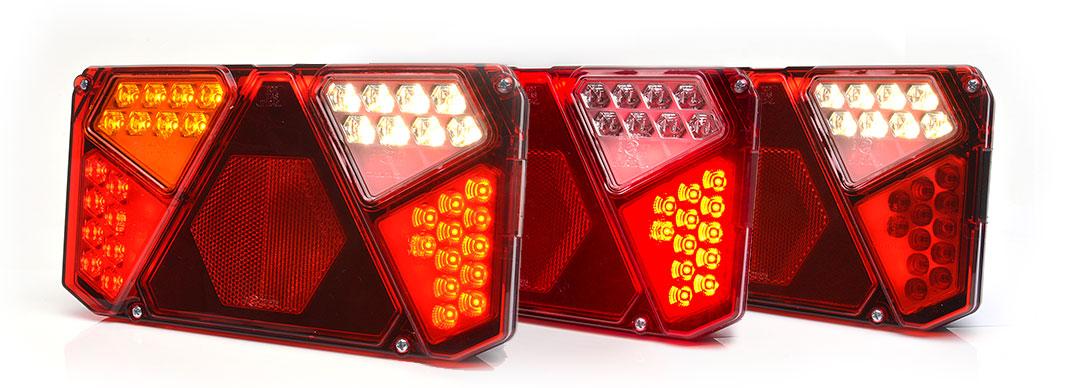 Lampy zespolone tylne - W124dn