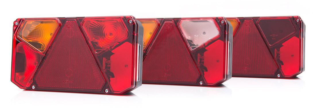 Lampy zespolone tylne - W125