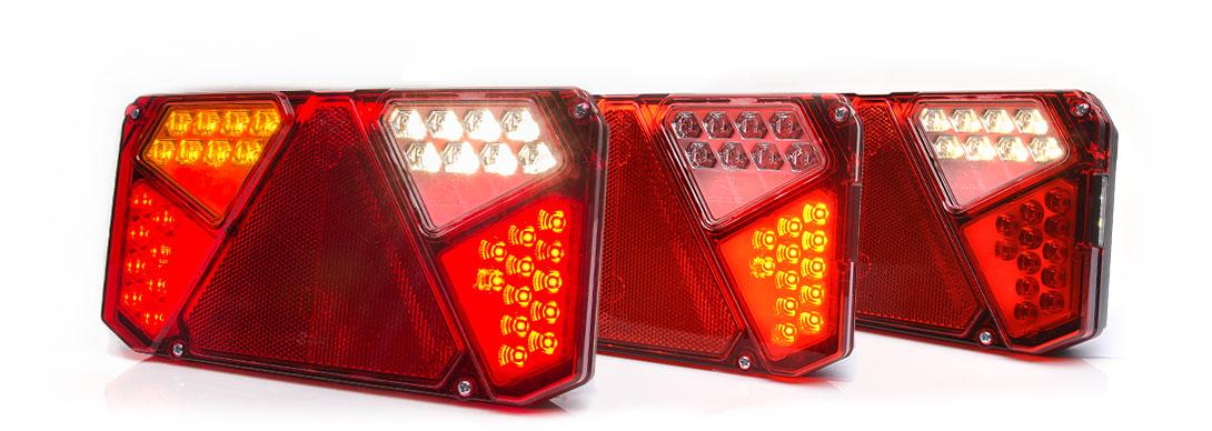 Lampy zespolone tylne - W125dn