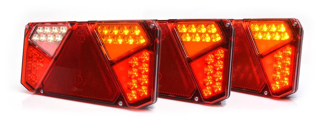 Lampy zespolone tylne - W125dnP