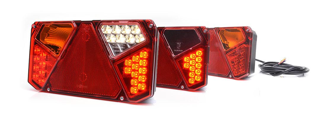 Lampy zespolone tylne - W125dż