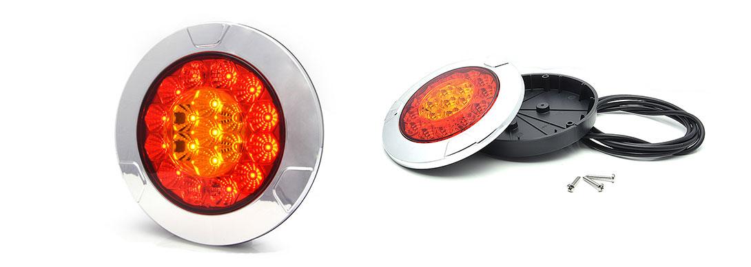 Lampy zespolone tylne - W131