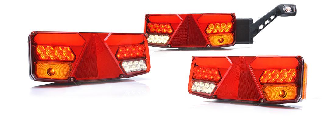 Lampy zespolone tylne - W137dż