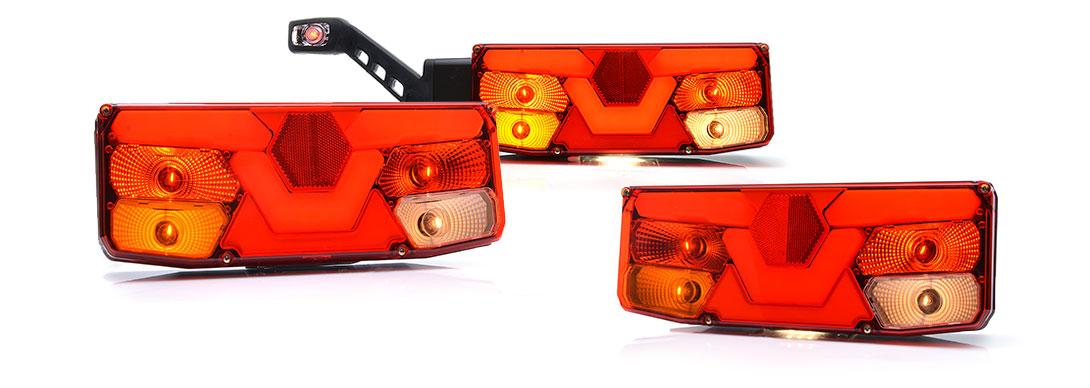 Lampy zespolone tylne - W138