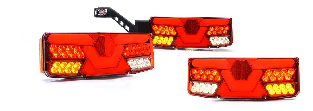 Lampy zespolone tylne - W138dL