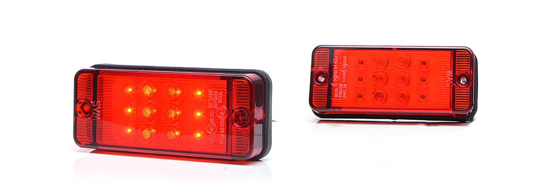 Lampy jednofunkcyjne przednie i tylne - W139