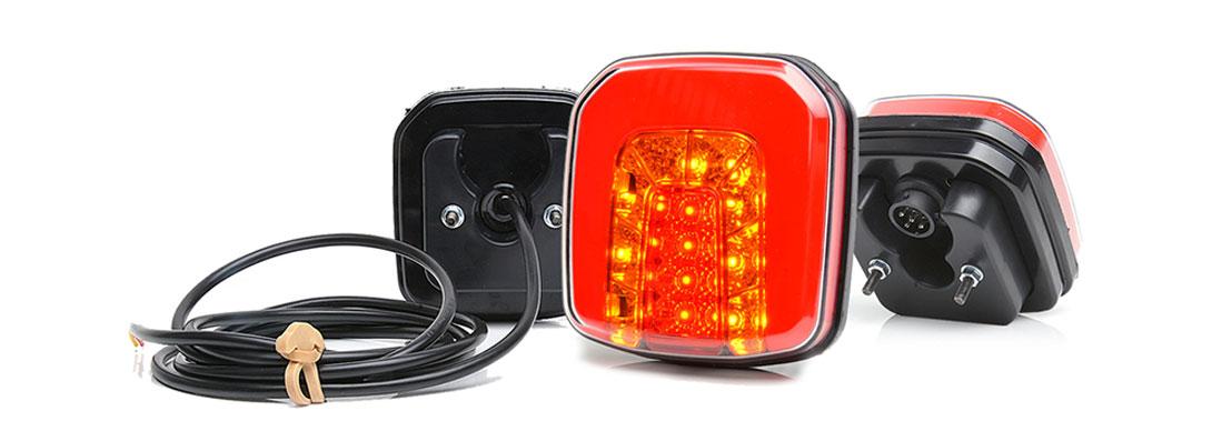 Lampy zespolone tylne - W145