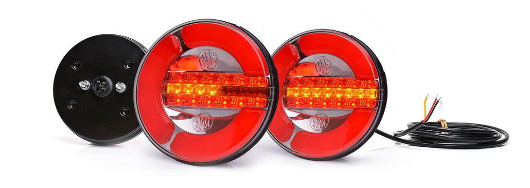 Lampy zespolone tylne - W153