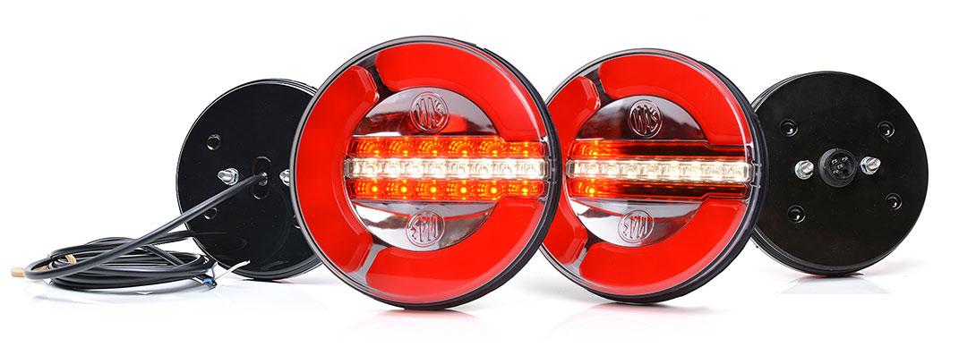 Lampy zespolone tylne - W154