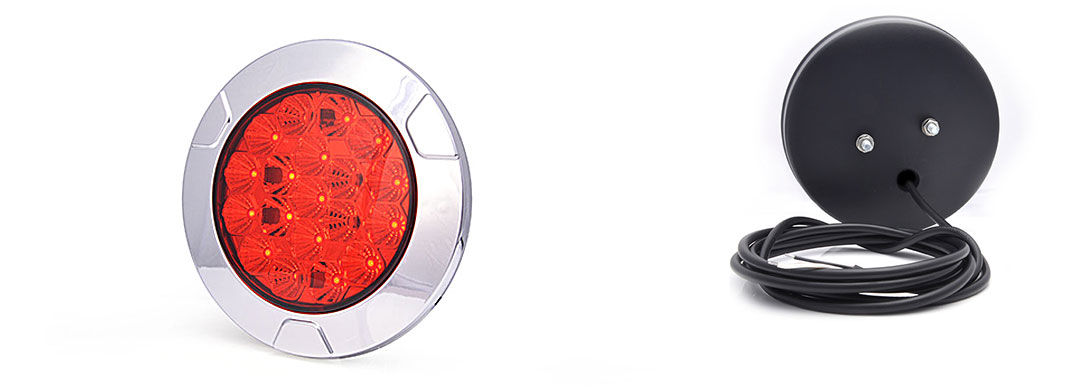 Lampy zespolone tylne - W155