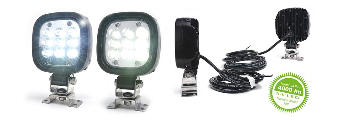 Lampy robocze - W166 4000