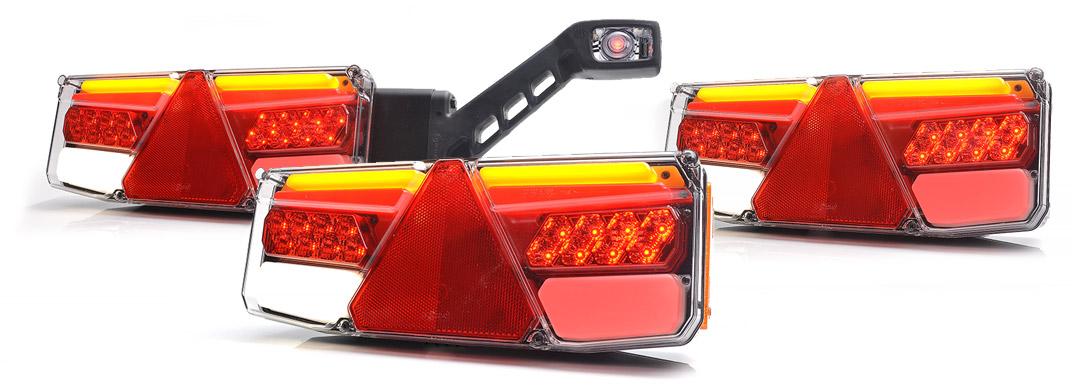 Lampy zespolone tylne - W170P
