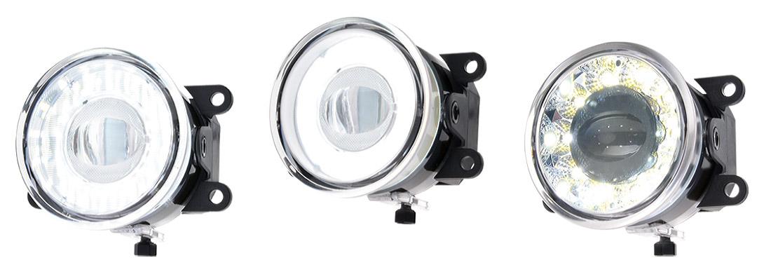 Przednie lampy drogowe, przeciwmgłowe i do jazdy dziennej - W182, W182N, W183