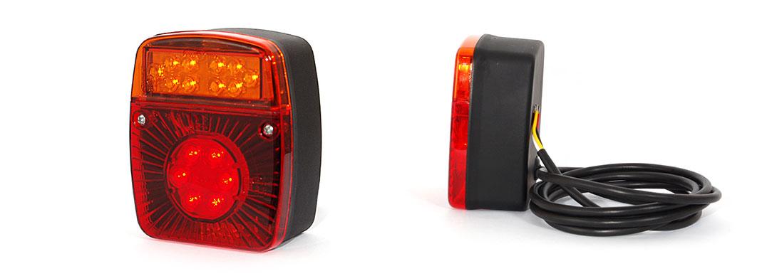 Lampy zespolone tylne - W18UD
