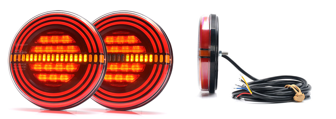 Lampy zespolone tylne - W191