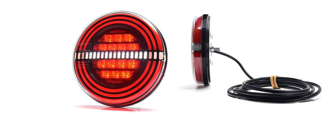 Lampy zespolone tylne - W192