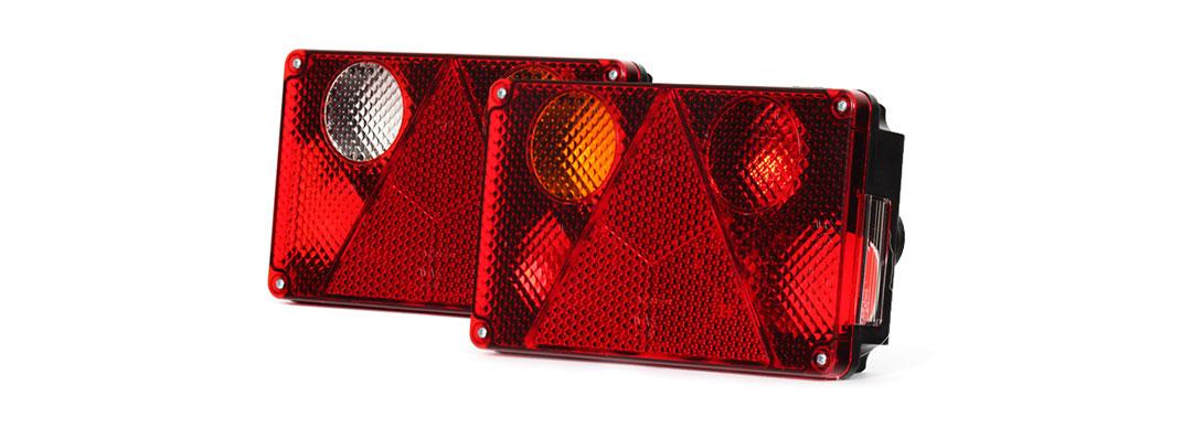 Lampy zespolone tylne - W21L, W21P