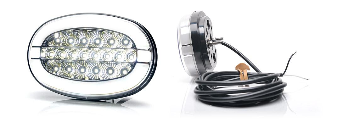 Lampy jednofunkcyjne przednie i tylne - W215