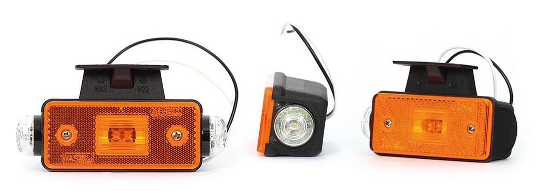 Lampy pozycyjne/obrysowe - W22