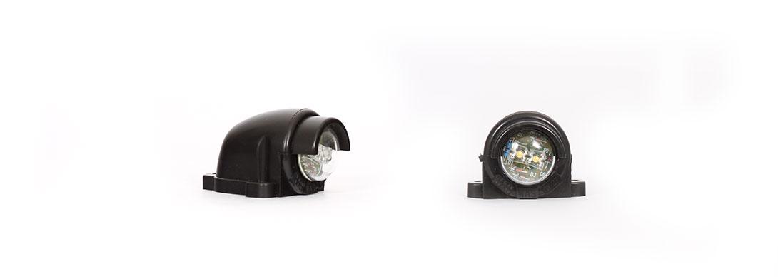 Lampy oświetlenia tablicy rejestracyjnej - W27