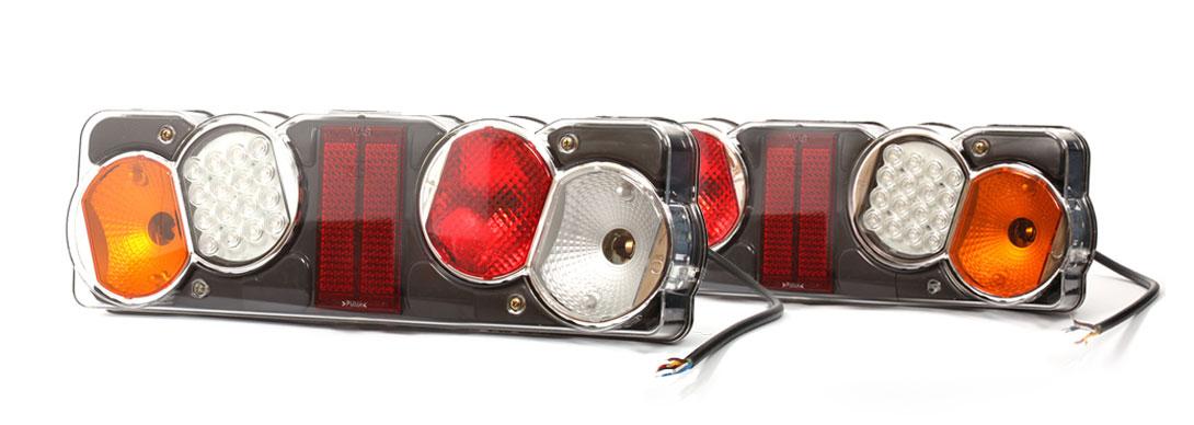 Lampy zespolone tylne - W40dżL, W40dżP