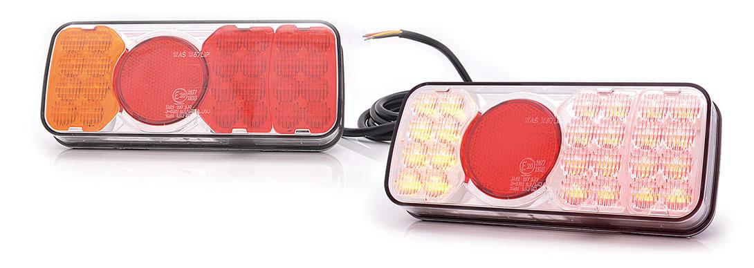 Lampy zespolone tylne - W67L, W67P