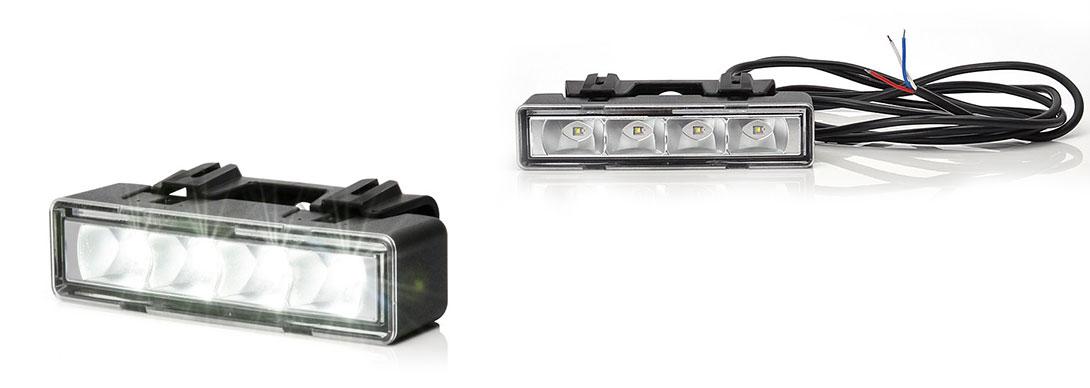 Przednie lampy drogowe, przeciwmgłowe i do jazdy dziennej - W85