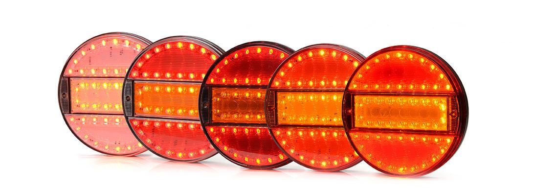 Lampy zespolone tylne - W91