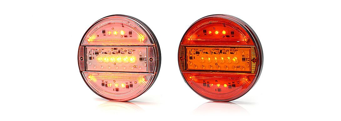Lampy zespolone tylne - W95